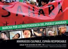 Marcha por la Independencia del Pueblo Saharaui