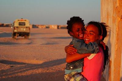 Abrazo con la libertad del pueblo saharaui
