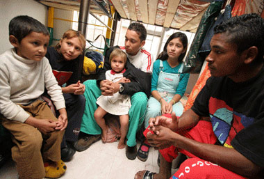 Refugiados: Colombia