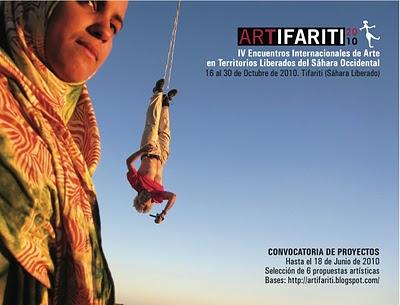 Citas saharauis con las artes