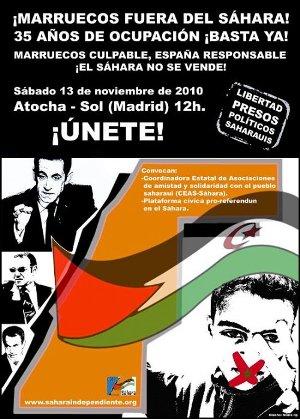 Voces y firmas por el Sáhara Occidental