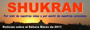 Shukran: noticias sobre el Sáhara (marzo 2011)