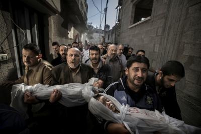 Desolación en Palestina: una foto