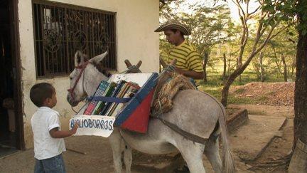 Bibliotecas móviles, acercando la lectura y la cultura